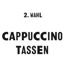 2. Wahl Cappuccino