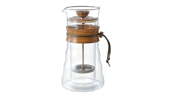 Hario Edle Frenchpress Kanne | Double Glass Coffee Press