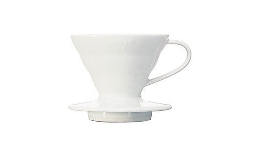 Hario Hand-Kaffeefilter | V60 Dripper | 2 Grössen | Keramik weiss | Made in Japan