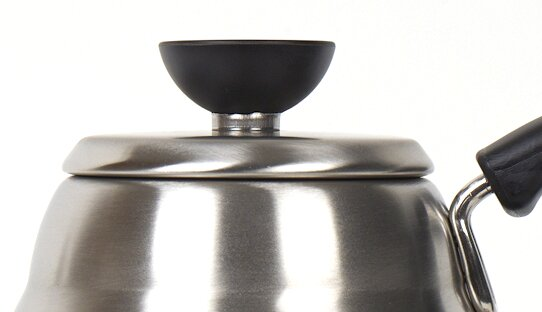 Hario Wasserkessel | Buono V60 Drip Kettle | metallic silber | max 1,0 l | Made in Japan