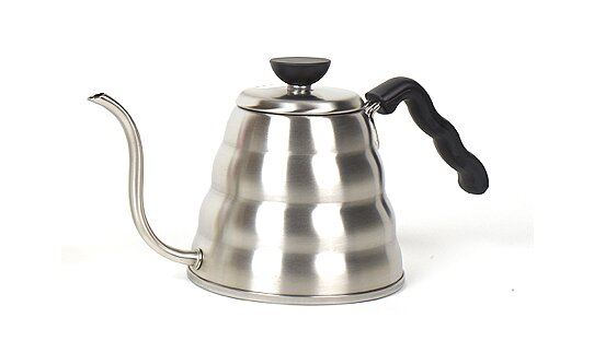 Hario Wasserkessel | Buono V60 Drip Kettle | metallic silber | max 1,2 l | Made in Japan