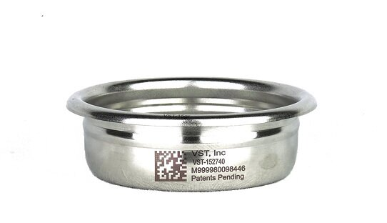 VST Profi Präzisions-Siebe für den idealen Espresso | ø 58 mm | 7 bis 25 gr | VST Precision Filter Basket | Made in the USA