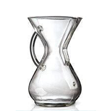 chemex filterkaffee karaffe mit glas griff 6 tassen 44 90. Black Bedroom Furniture Sets. Home Design Ideas