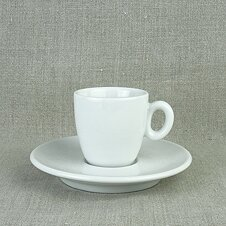 Espresso-Tasse »Roma« | weiss | Made in Italy | I.P.A....