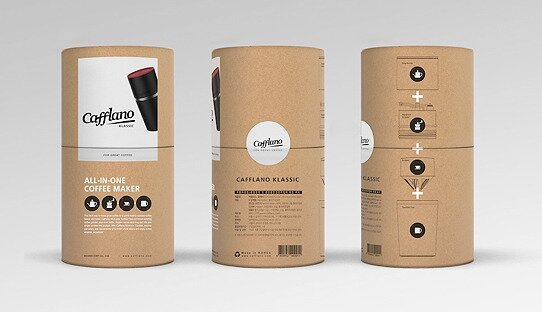 Mobile Filterkaffee-Maschine für unterwegs | »Cafflano Klassic All-in-One« | Outdoor-Kaffeezubereiter