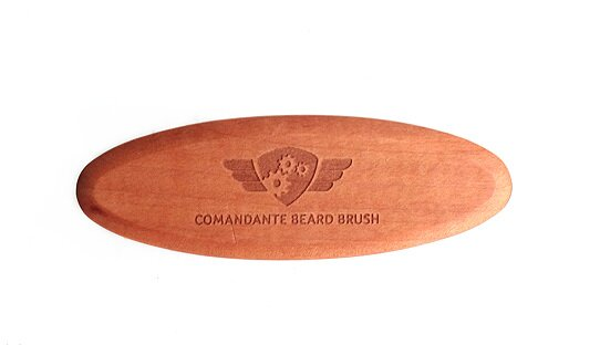 Original-Zubehör: Comandante Bart-Bürste | Barista Beard Brush #3 | Made in Germany