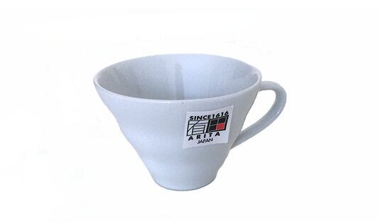 Filterkaffee-Tasse »V60 Ceramic« | weiss | Made in Japan | Hario (150 ml)