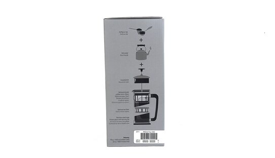Espro Press P5 | Kupferfabener Edelstahl & Glas | French Press | 0,5 l