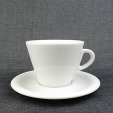Cappuccino-Tasse »Favorita« | weiss | Made in Italy |...