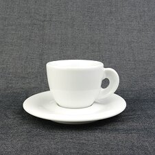 Espresso-Tasse »Edex« | weiss | Made in Italy | Ancap...