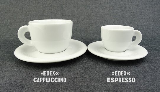 Cappuccino-Tasse »Edex« | Made in Italy | Ancap (190 ml)