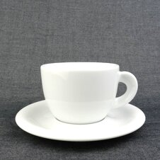 Cappuccino-Tasse »Edex« | weiss | Made in Italy | Ancap...
