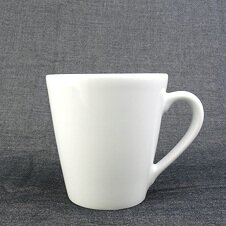 Becher Mug | Porzellan | »Monaco« | weiss | Made in Italy...