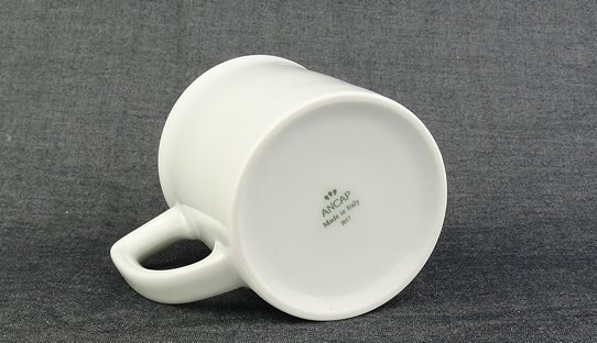 Becher Mug | Porzellan | »Toscana« | weiss | Made in Italy | Ancap (260 ml)