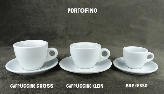 2. Wahl: Espresso-Tasse »Portofino« | dickwandig | Nuova Point (55 ml)
