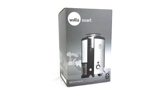 Wilfa Kaffeemühle metallic | Svart Nymalt | WSCG-2 | Made in Norway