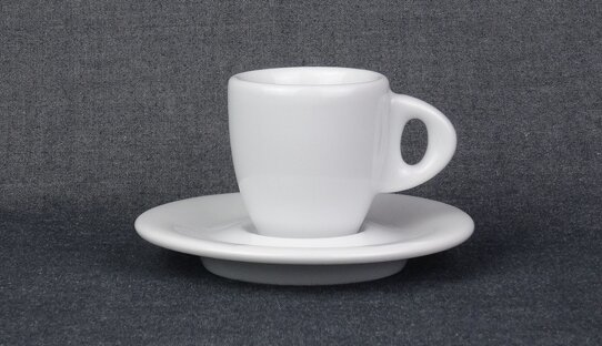 Dickwandige Espresso-Tasse »Galileo ristretto« | weiss | Made in Italy | Ancap | max 55 ml