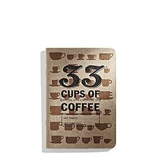 Notizheft Journal für Degustationen | »33 cups of coffee«...