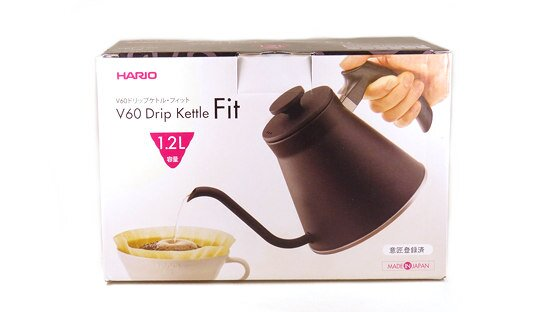 Hario Wasserkessel | V60 Drip Kettle Fit | schwarz | max 1,2 l | Made in Japan