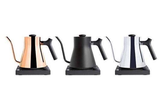 Fellow elektrischer Wasserkessel »Stagg EKG« | Edelstahl | matt schwarz | »Electric Pour-Over-Kettle« | 1,0 l
