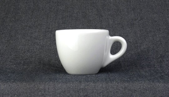 Extra dickwandige (8,5 mm) Espresso-Tasse »Verona« | weiss | Made in Italy | Ancap (max. 65 ml)
