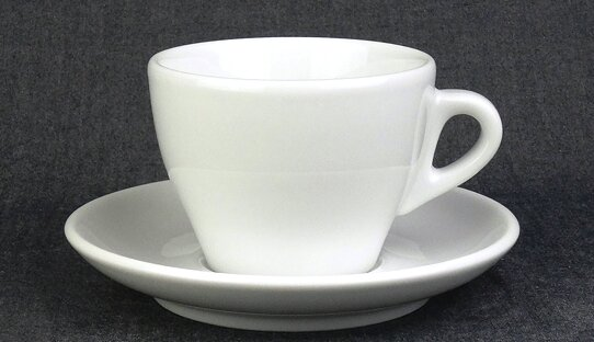 Cappuccino-Tasse »Torino« (gross) | weiss | Made in Italy | Ancap (200 ml)