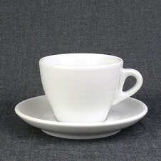 Cappuccino-Tasse »Torino« (gross) | weiss | Made in Italy...