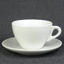 Caffelatte-Tasse »Torino« | weiss | Made in Italy | Ancap...