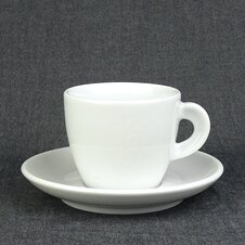 Cappuccino-Tasse »Bari« | weiss | Made in Italy | Ancap...