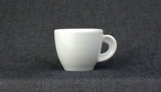 Extra dickwandige Espresso-Tasse »Bari« | weiss | Made in Italy | Ancap (max. 50 ml)