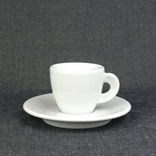 Extra dickwandige Espresso-Tasse »Bari« | weiss | Made in...