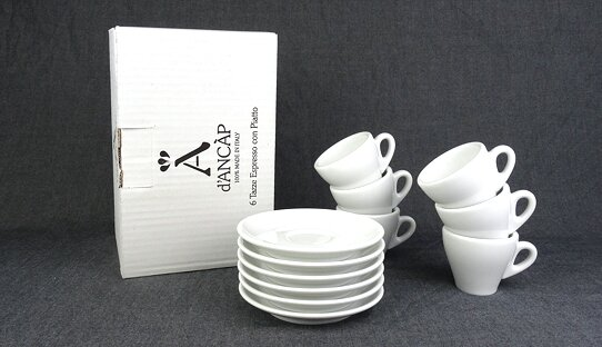 Espresso-Tasse »Torino« | weiss | Made in Italy | Ancap (max. 70 ml)