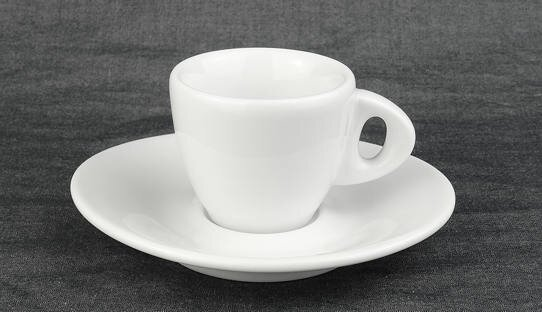 Dickwandige Espresso-Tasse »Galileo bassa« | weiss | Made in Italy | Ancap | max 55 ml