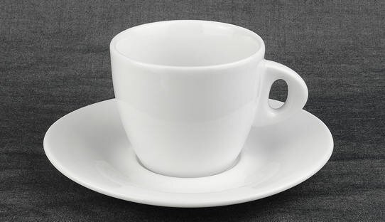 Cappuccino-Tasse »Galileo classic« | weiss | Made in Italy | Ancap | max 190 ml