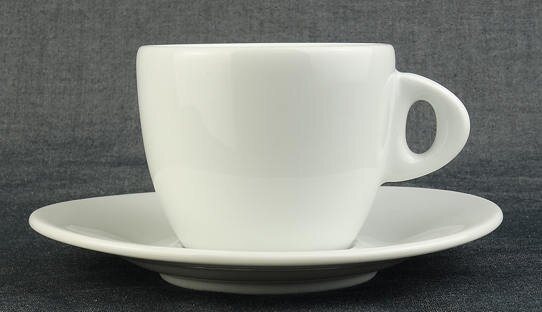 Cappuccino-Tasse »Galileo Colazione« | weiss | Made in Italy | Ancap | max 220 ml