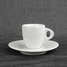 Dickwandige Espresso-Tasse »Galileo alta« | weiss | Made...
