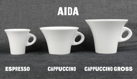 Cappuccino-Tasse »Aida« (gross) | Made in Italy | Ancap | max 240 ml