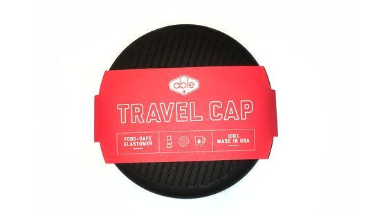 Zubehör: AeroPress Reisedeckel | »Travel Cap« | Able | Made in USA