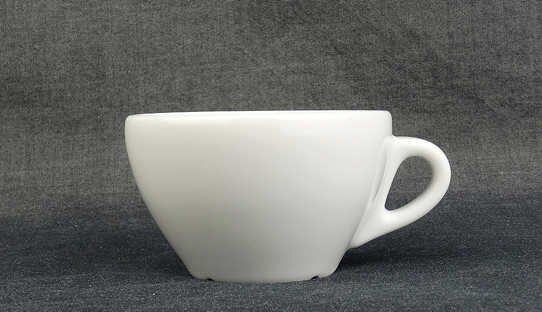 Cappuccino-Tasse »Jolly« | weiss | Made in Italy | Ancap (150 ml)
