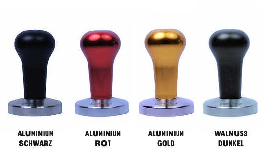 Asso Coffee Tamper | »Essential« | ø 58 mm | verschiedene Griff-Arten | Made in Italy