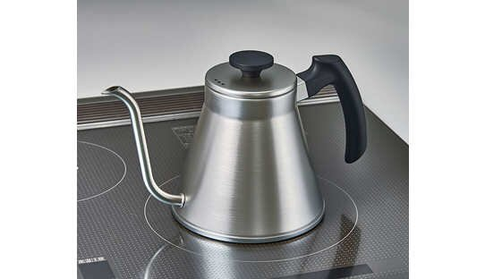 Hario Wasserkessel | V60 Drip Kettle Fit | metallic | max 1,2 l | Made in Japan