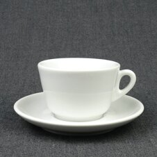 Cappuccino-Tasse »Roma« | weiss | Made in Italy | Ancap...