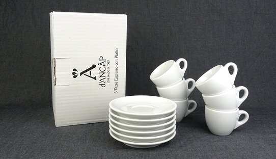 Espresso-Tasse »Palermo« | dickwandig | Made in Italy | Ancap (55 ml)