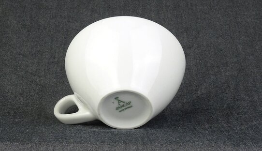 Cappuccino-Tasse »Ancona« | weiss | Made in Italy | Ancap (140 ml)